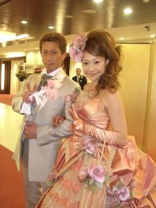 アヤナチュールのクラシカルラインドレスでした